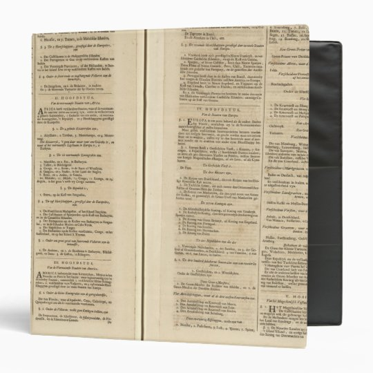 Text Page New World Atlas Binder