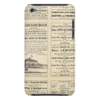 Text Page of Boston and Maine Railroad iPod Touch Case