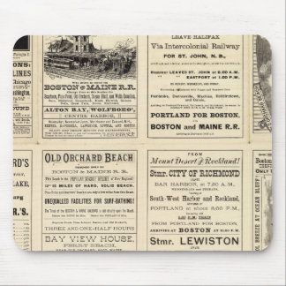 Text Page of Boston and Maine Railroad Mouse Pad