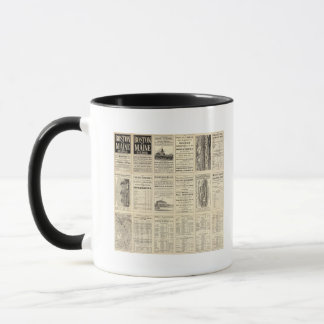 Text Page of Boston and Maine Railroad Mug