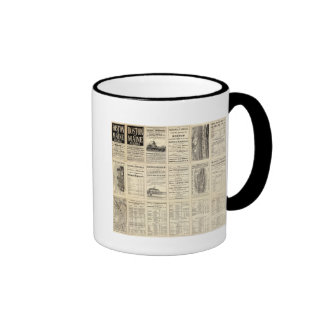 Text Page of Boston and Maine Railroad Mugs