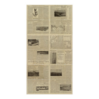 Text Page of Land Grant of North Dakota Posters