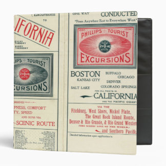Text Page of Phillips Tourist Excursions Binder