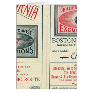 Text Page of Phillips Tourist Excursions Card