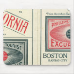 Text Page of Phillips Tourist Excursions Mouse Pad