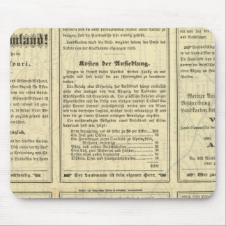 Text Page of St Louis and San Francisco Railway Mouse Pad