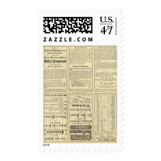 Text Page of St Louis and San Francisco Railway Postage Stamp