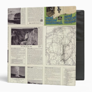 Text Page of Yellowstone National Park 2 Binder