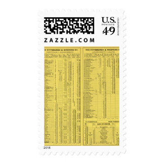 Text Page Pittsburgh and Western Railway Company Stamp