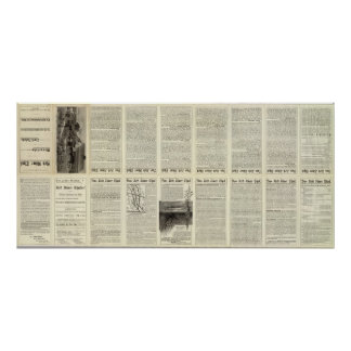 Text Page Red River Thal, Minnesota Poster