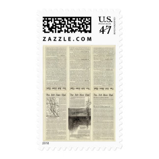 Text Page Red River Thal, Minnesota Stamp