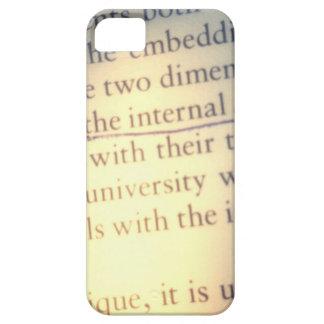 Text pious nest bail iPhone SE/5/5s case