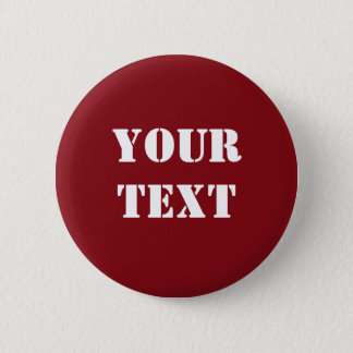 Text Template Button Raglan Red
