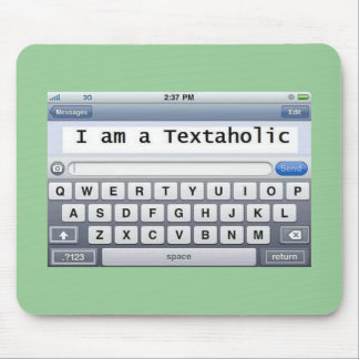 Textaholic Mouse Pad