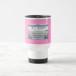 Textaholic Travel Mug