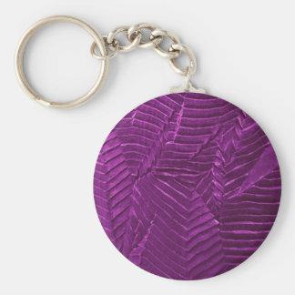 textile-1248purple llavero redondo tipo pin