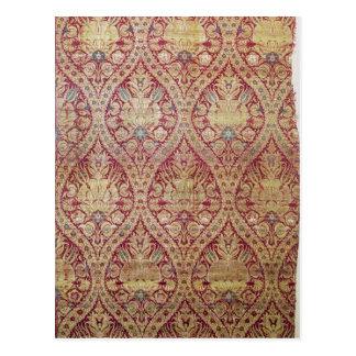 Textile design, 16th/17th century postcard