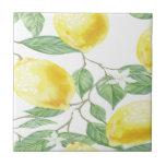 "Textile Fabric Leaf Green Yellow Lemon Fruit Tile<br><div class=""desc"">Textile Fabric Leaf Green Yellow Lemon Fruit</div>"