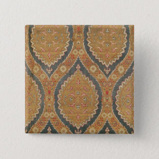 Textile panel, 16th/17th century button