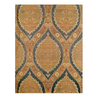 Textile panel, 16th/17th century postcard