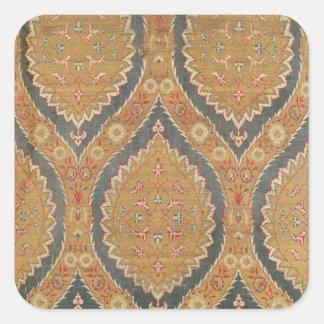 Textile panel, 16th/17th century square sticker