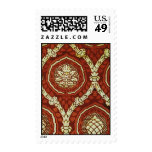 Textile Pattern #4 @ Stylnic Postage Stamp