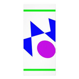 Textile Pattern Rack Card