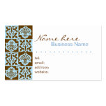 Textile Style Pattern Business Card