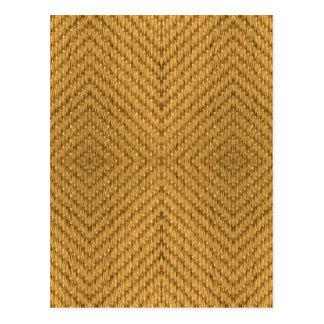Textile Texture Postcard