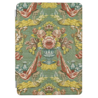 Textile with a repeating floral motif iPad air cover