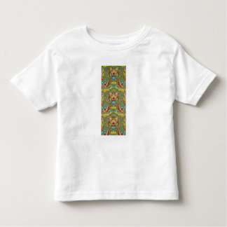 Textile with a repeating floral motif toddler t-shirt