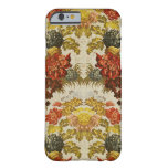 Textile with a repeating floral pattern barely there iPhone 6 case