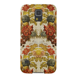 Textile with a repeating floral pattern galaxy s5 case