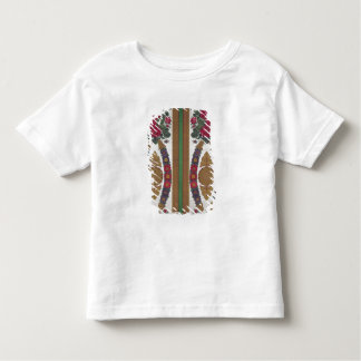 Textile with garlands of daisies toddler t-shirt