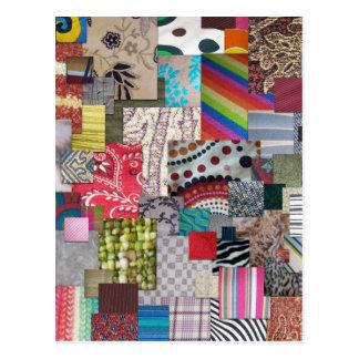 Textiles Postcard