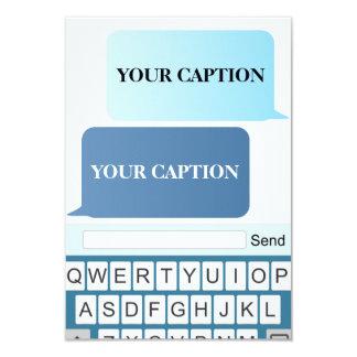 Texting. Card