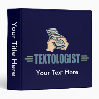 "Texting chistoso carpeta 1 1/2"""