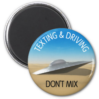 Texting Driving Don t Mix Refrigerator Magnet