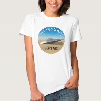 Texting & Driving Don't Mix T-shirts