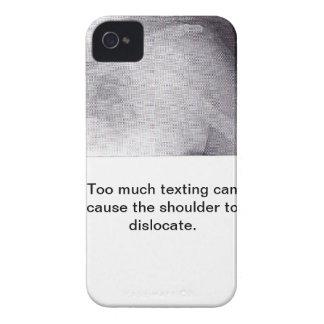 Texting iPhone 4 Case-Mate Cobertura