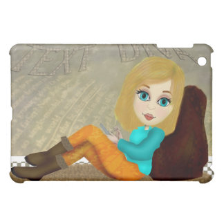 Texting Girl iPad Case