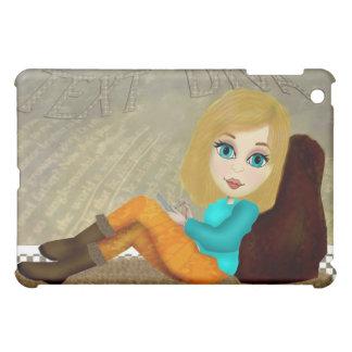 Texting Girl iPad Case