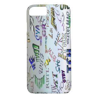 Texting Message Dictionary - Abbreviations iPhone 7 Case