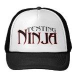 Texting Ninja! Mesh Hats