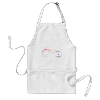 Texting? Puh-lease Adult Apron