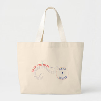 Texting? Puh-lease Large Tote Bag