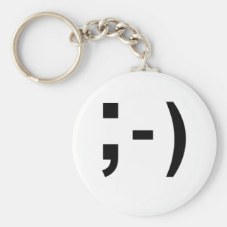 Texting Punctuation Smiley- Keychain