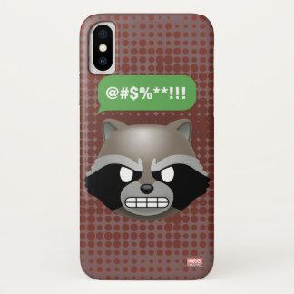 Texting Rocket Emoji iPhone X Case
