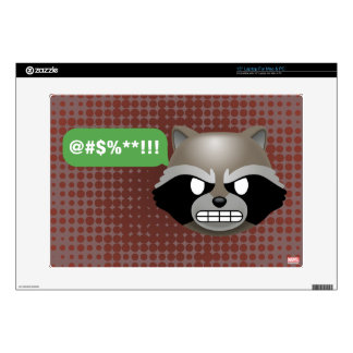 Texting Rocket Emoji Laptop Decal