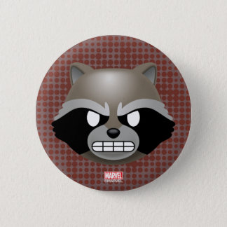 Texting Rocket Emoji Pinback Button